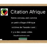 Citation d'Afrique par Jonathan Muchemblé