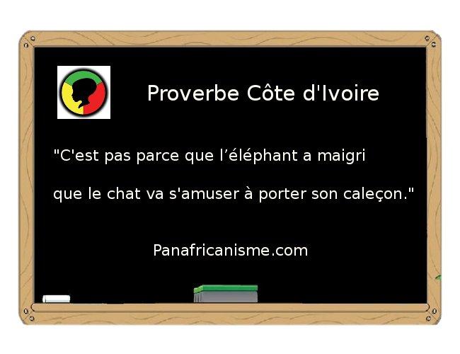 Proverbe Drole Africain DN85 | Jornalagora
