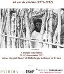"""Colloque international """"Les réalisatrices africaines francophones: 40 ans de cinéma (1972-2012)..."""