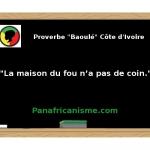 """Proverbe Afrique ethnie """"Baoulé"""" de Côte d'Ivoire"""