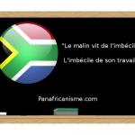 Proverbe Afrique du sud sur le travail