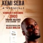 France : conférence de Kemi Seba à Marseille le 21 novembre 2014